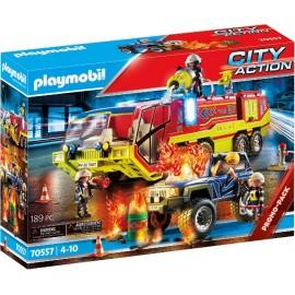 OPERACION RESCATE CON CAMION de Playmobil