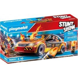 STUNTSHOW CRASHCAR MULTICOLOR de Playmobil