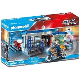 POLICIA ESCAPE DE LA PRISION de Playmobil