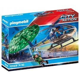 HELICOPTERO DE POLICIA PERSECUCION de Playmobil