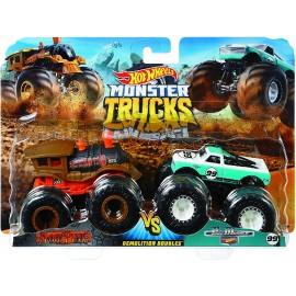 Coches Monster Truck Duetos Demolición 1:63