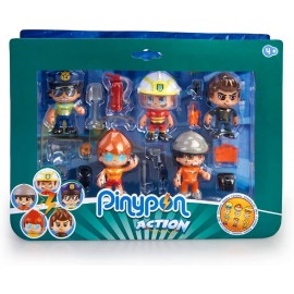 PINYPON ACTION. PACK 5 FIGURAS SERIE 2