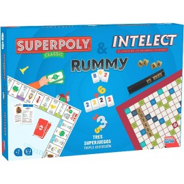 SUPERPOLY + INTELECT + RUMMY