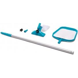 Kit de Mantenimiento para limpieza Piscinas, con Mango 239 cms.
