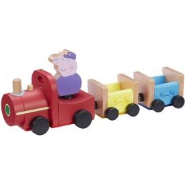 Peppa Pig, Tren de Madera, Abuelo
