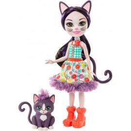 Muñeca Enchantimals, Ciesta Cat y su Gata Climber