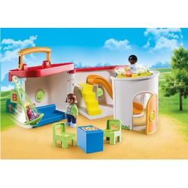 Gardería Maletín de Playmobil 1.2.3.