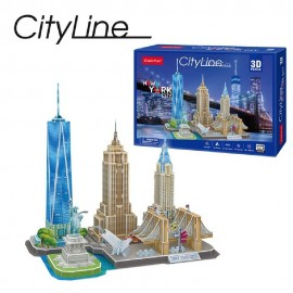 PUZZLE 3 D - CITY LINE: NEW...
