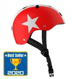 Casco Estrella, Infantil Rojo Star