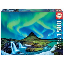 Puzzle de  1500 piezas Aurora Boreal Islandia
