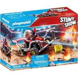 Stuntshow Kart Bombero de Playmobil