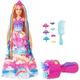 Muñeca Barbie Princesas Trenzas