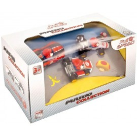Pack de 3 coches de Mario Kart Wii + 8 + Match