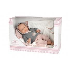Muñeca Elegance Edur de 40 cms con manta y Chupete