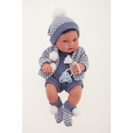 Muñeco recien nacido Pipo de 42 cms