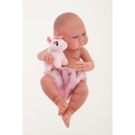 Muñeca Recien Nacida Nica Unicornio de 42 cm