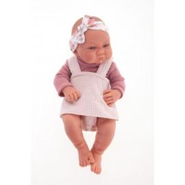 Muñeca Recien Nacida Nica de 42 cms con saco