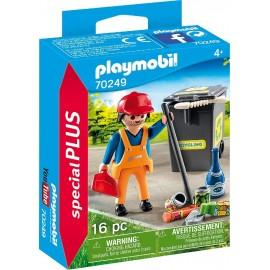 Barrendero de Playmobil
