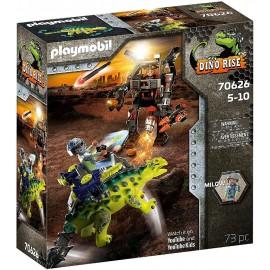 Saichania Defensa del Luchador de Playmobil - Dino Rise