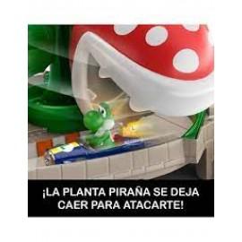 Pista de Hot Whells Pista Piraña de Mario Kart