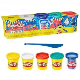 Play-Doh set de 5 Botes Celebracion