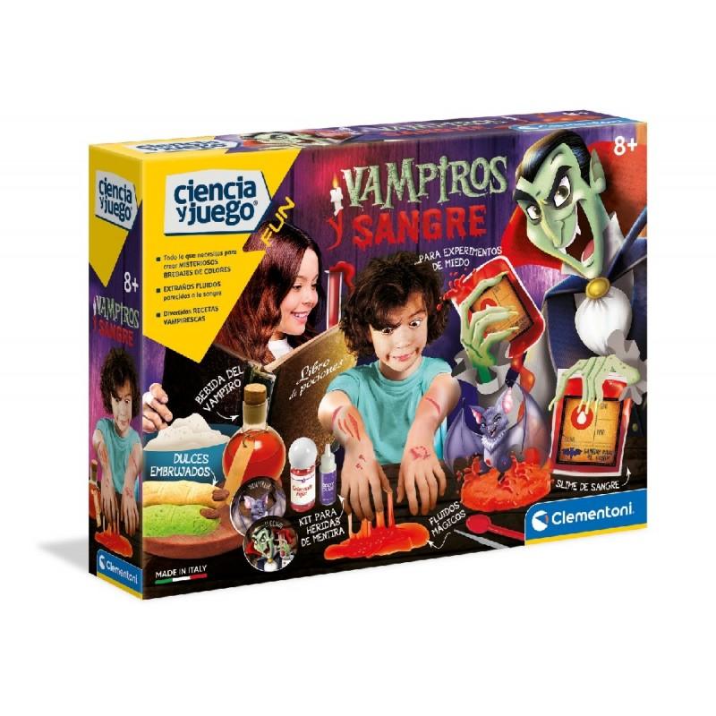 Vampiros y Sangre - Ciencia y juego