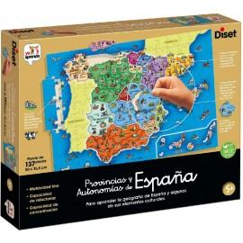 Puzzle Provincias y Autonomías de España