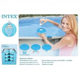 Dispensado para cloro para las piscinas de 12,70 cms