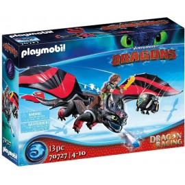 Drangons Racings Hipo y Desdentao de Playmobil