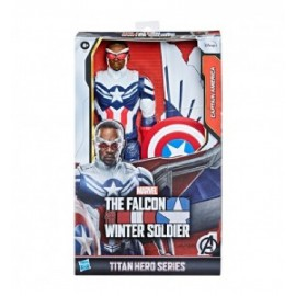 Avengers - Figura Titan Hero Falcon Capitan America