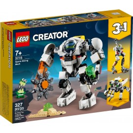Lego Creator, Robot Meca Minero Espacial