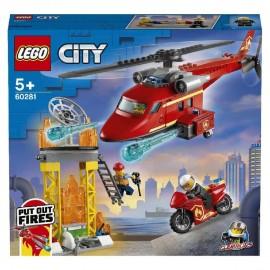 Lego City - Helicoptero de Rescate de Bomberos