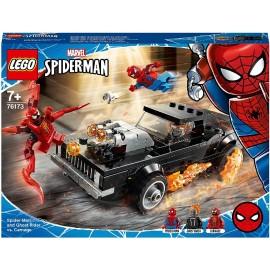 Lego Spideman y el Motorista fantasma VS Carnaje