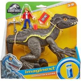 Imaginext Jurassic World Indoraptor & Masie
