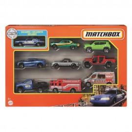 Matchbox, Pack de 9 Vehiculos