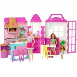 Muñeca Barbie y su Restaurante