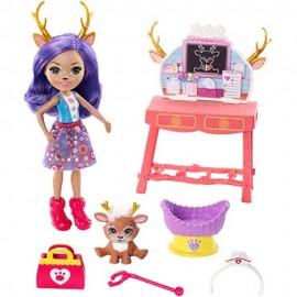 Muñeca Enchantimals, Danessa Deer y Sprin