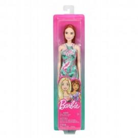 Muñeca Barbie, Vestido Flores Verde