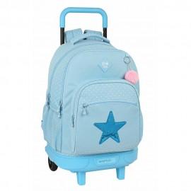 "Mochila Grande con Ruedas Glowlab ""Star"", Compact"