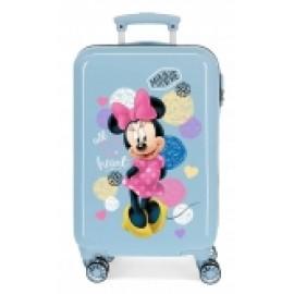Maleta, Trolley Abs, de 55 Cms. Love Minnie
