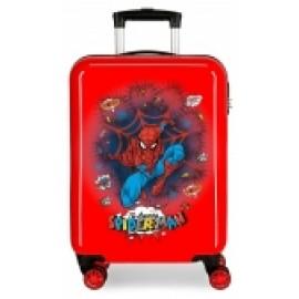 Maleta, Trolley Abs de 55 Cms. Spiderman Pop.