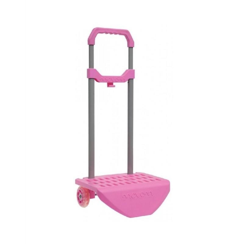 Carro Portamochila Escolar Movom Color Rosa