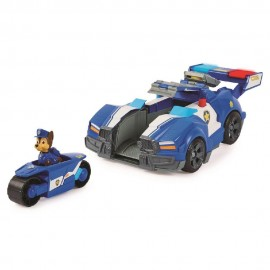Paw Patrol, Vehiculo Transformable de Chase Movie
