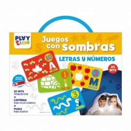 Playtime, Juego con Sombras, Letras y Numeros.