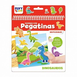 Playtime, Escena con Pegatinas Dinosaurios