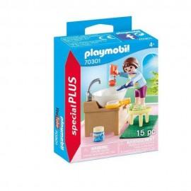 Niña con Lavabo de Playmobil