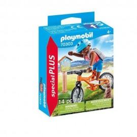 Ciclista de Montaña de Playmobil
