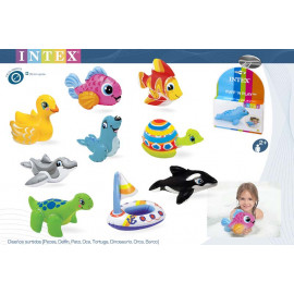 MINI FIGURAS ANIMALES HINCHABLES