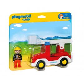 Camion de Bombero de Playmobil 1.2.3