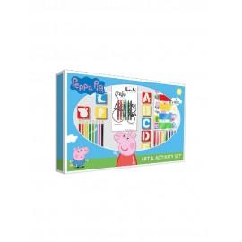 Peppa Pig. Set de Actividades Con 67 Piezas.